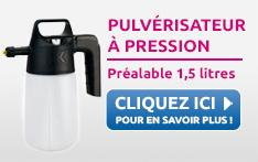 PULVERISATEUR A PRESSION PREALABLE